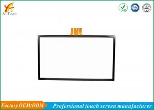 China 65 Inch Large Capacitive Touch Screen / Clear Capacitive Multi Touch Panel on sale