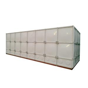 China Steady Structure Roof Tank Frp , Non Leakage Modular Water Storage Tanks on sale