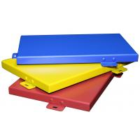 China Solid Aluminum Sheet Metal Custom Width Construction Roofing Easy Installation on sale