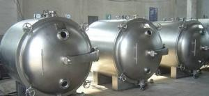 China Round Tank  4 Trays Industrial Vacuum Chamber on sale