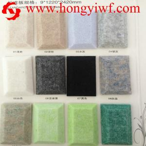 China CE/ISO9001 polyester acoustic wall panel / Non Woven Needle Punching Machine on sale
