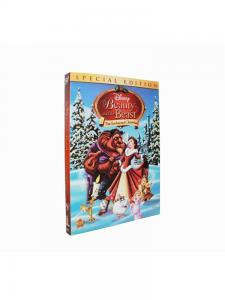 China 2016 Beauty and the Beast The Enchanted Christmas cartoon dvd movie disney children dvd box set Tv show with slipcover on sale