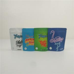 China 3.5 g Edibles Mylar Bags Smell Proof Candy Packaging Pouch Soft Gummy Edible Bag on sale