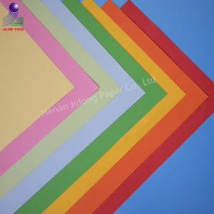 China Wholesale Cheap price China tissue paper supplier offset printing pure color pink bule wrapping paper on sale