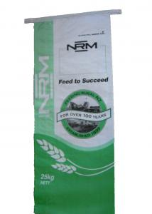 China Thick Woven Polypropylene Feed Bags 50lb Lightweight on sale