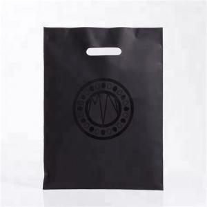China OEM professional recycle plastic carrier bag custom printed merchandise bags on sale