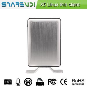 China ARM A9 thin client Sharevdi X5,built-in Linux,1G RAM,8G Flash CPU 1.5Ghz, Quad core,support online video/VM ware/Citrix on sale