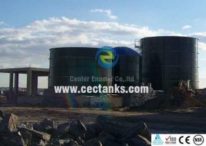 China EN 28765 Standard Glass Lined Water Storage Tanks For Agricultural Water Storage on sale
