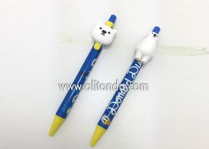 China Custom promotional advertising pens logo print gel pen custom sign pens for markets promotion wholesale on sale