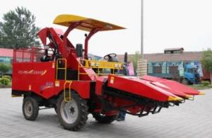 China Corn harvester,4YZ-3A corn combine harvester 50HP,Corn harvester threshing machines. on sale