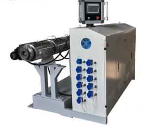 China High Output Single Screw Extruder Machine / Small Plastic Extruder Machine on sale