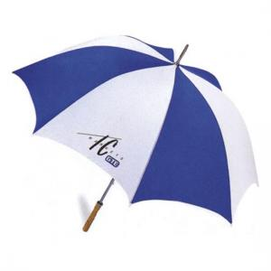 China straight UV-protection golf fan umbrella on sale
