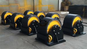 China Pressure Vessel Welding Turning Rolls Wireless Remote 60 Ton Loading Capaicty on sale