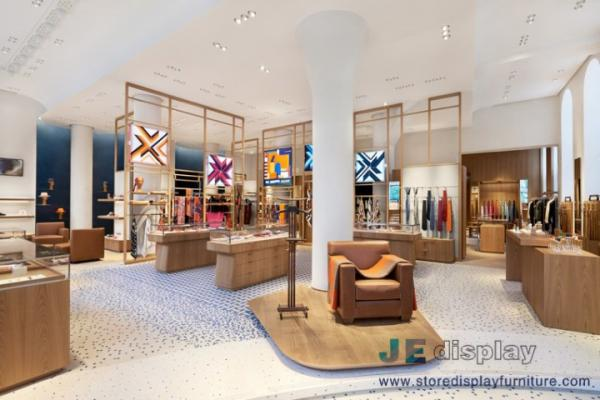 Women S Boutique Store Interior Design Solid Wood Display Racks With Jewelry Show Counters For Sale Custom Furniture For Store Manufacturer From China 107645085