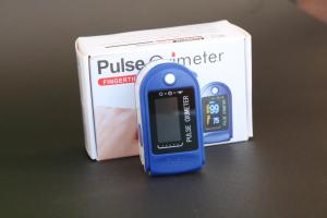 China Easy Home Clinical Heart Rate Monitor Finger Pulse Oximeter on sale
