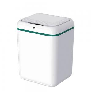China Touchless ABS Household Kitchen Automatic Rubbish Bin Smart Sensor Trash Can on sale