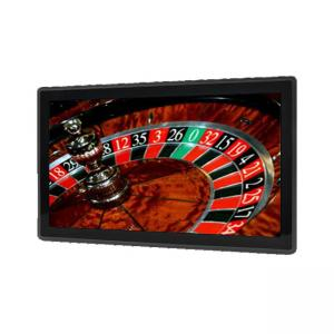 China Wide Screen Casino Display Projected Capacitive Touch LCD Monitor 18.5 Inch on sale