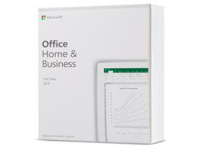 China Online Activation Microsoft Office H&B 2019 1PC MAC Word Excel PowerPoint Outlook on sale