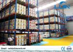 Logistics Storage Drive In Pallet Rack 1350 - 3900mm Width Corrosion Resistance