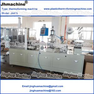 China small thermoforming Machine for disposable containers and lids/save engergy use PP materia on sale