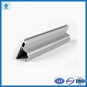 China Silver Anodized Aluminum Extrusion, Aluminum Profile for Air Conditioner Frame on sale