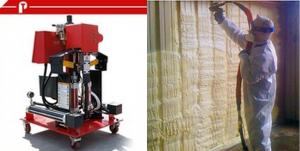 China High pressure PU polyurethane foam insulation spray and pouring machinery on sale