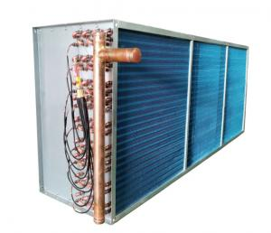 China 1/3HP Air Conditioner Finned Tube Exchanger With Fan Cover on sale