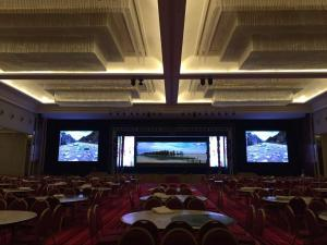 China Die Casting Aluminum AC200V Full Color Indoor LED Screen For Rental on sale