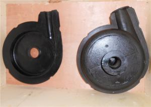 China Centrifugal Industrial Horizontal Rubber Sump Slurry Pump Wet End Spare Parts Rear Liner Plate on sale
