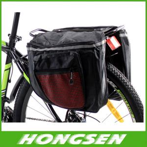 China Beijing 2014 new Fashionable New Design Durable Waterproof bicycle rear rack bag on sale