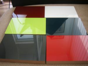 China decorative paper board standard size MDF board high gloss acrylic MDF board on sale
