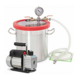China 6 Gallon Silicone Resin Degassing Vacuum Chamber for raw material on sale