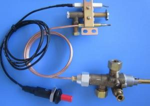 China Piezoelectric Igniter Framed SV12 Gas Oven Thermostat Heat Control Valve 0.5 Kgs on sale