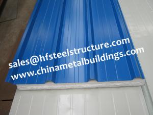 China EPS Sandwich Cold Room Panel Width 950mm Used For Wall and Roof Decoration on sale