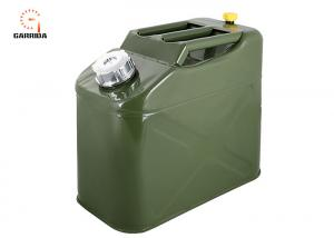 China Portable Car Stainless Steel Fuel Tank Vertical Jerry Can , oil drum on sale