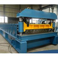 China PLC Control Sheet Metal Forming Equipment Roof Tile Forming Machine on sale
