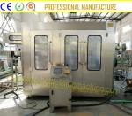Pure / Mineral Water Bottling Machine , PLC Program Control Small Scale Water Bottling Plant