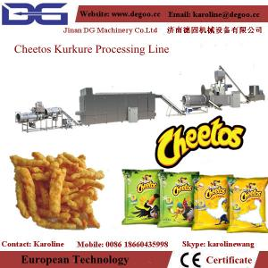 China automatic kurkure/ nik naks/ cheetos making machine production line on sale