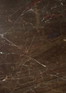 Dark Brown Gloss Marble Floor Tiles