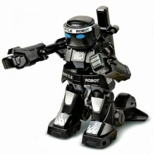 China 2 X Kingcraft Battle Rc Robots Toy 2.4G Remote Control For Kids 777-615 White Bl on sale