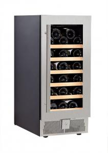 China 150L 31 Bottle Single Zone Wine Coolers With Conmpressor on sale