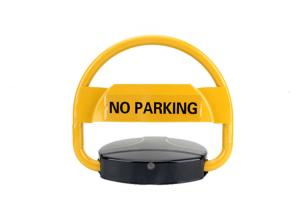 China Solar Powered Remote Control Automatic Parking Locks Car Parking Stopper on sale