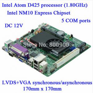 China Special Direct Atom D425 DC12V called machine Industrial Motherboard M4S_D5 on sale
