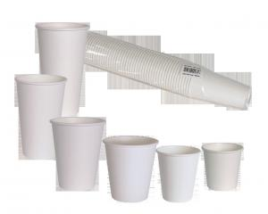 China Poly Coating Drink 8oz Customized Disposable Paper Cups on sale