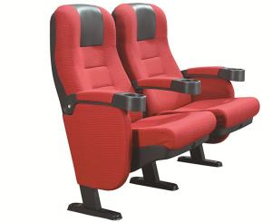 China PP Armrest Movie Theatre Chairs on sale