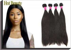 China 8 - 30 Inch Non - Remy Virgin Human Hair Extensions Indian Straight on sale