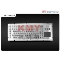 China Rugged Industrial Keyboard With Touchpad 8KV Metal PC Keyboard on sale
