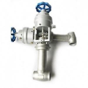 China Handwheel Cryogenic Emergency Cut Off Valve Stainless Steel Fireproof DN 25 on sale
