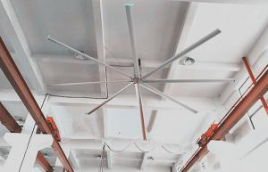 China Customized Industrial Warehouse Ceiling Fans With Low Power Consumption on sale