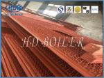 Energy Saving Carbon Steel Boiler Water Wall Tubes For Power Plant In Orange Color